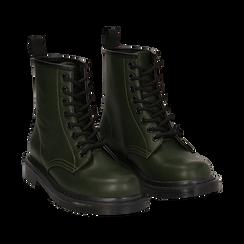 Botas militares en color verde, Primadonna, 162801501EPVERD036, 002 preview