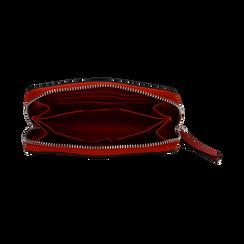 Portafoglio compatto rosso in eco-pelle, Borse, 133731344EPROSSUNI, 003 preview