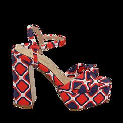 WOMEN SHOES SANDAL SATIN ROSS, Chaussures, 152133401RSROSS036, 001a