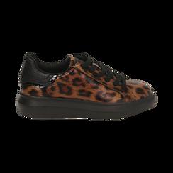 Sneakers léopard , Primadonna, 162602011EPLEMA035, 001 preview