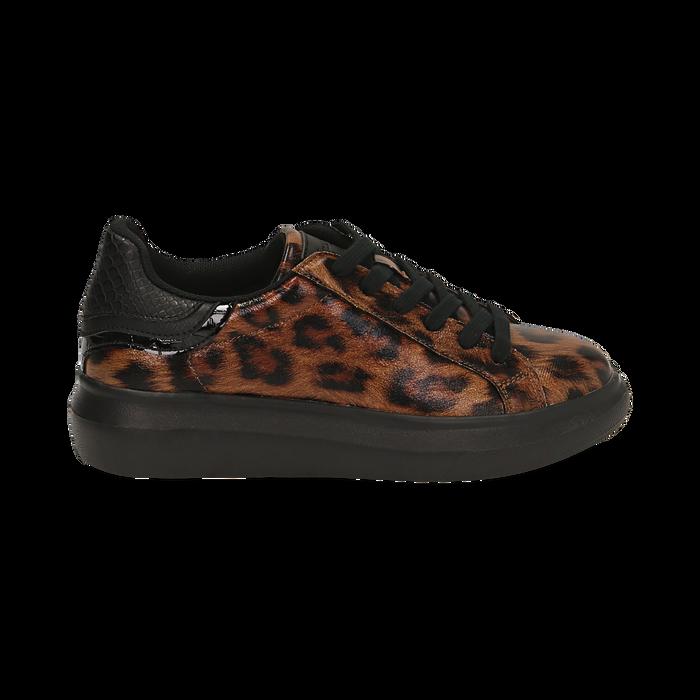 Sneakers léopard , Primadonna, 162602011EPLEMA035