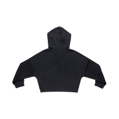 Felpa nera con cappuccio, Abbigliamento, 12F752453TSNERO, 005 preview