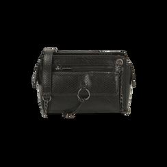 Petit sac noir imprimé vipère, Primadonna, 16D938308EVNEROUNI, 001 preview