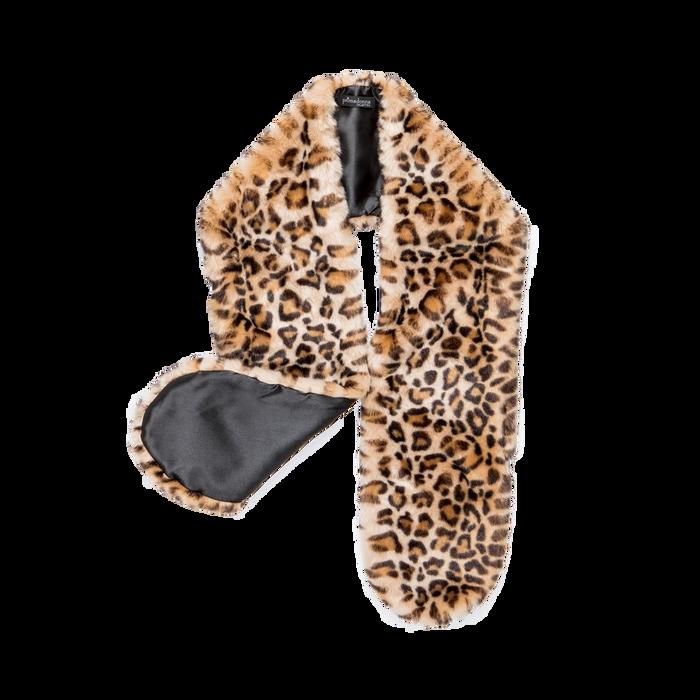 Coprispalla in eco-pelliccia leopard, Saldi, 12B414001FULEOP