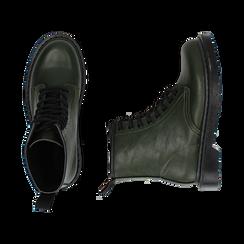 Botas militares en color verde, Primadonna, 162801501EPVERD036, 003 preview