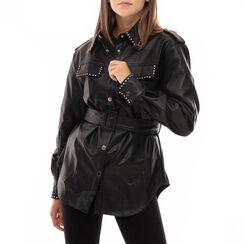Giacca nera con borchie, Primadonna, 166500043EPNEROM, 001a