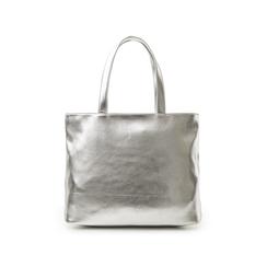 Maxi bag argento in laminato , Primadonna, 133764104LMARGEUNI, 003 preview