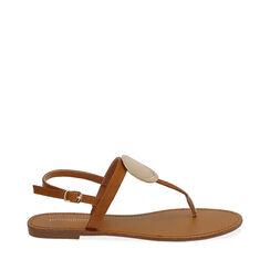 Sandalias de dedo coñac, 174919651EPCOGN037, 001a