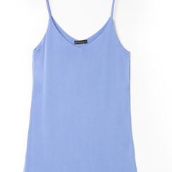 Mini-dress celeste con scollo a V, Primadonna, 13F753052TSCELEM, 002 preview