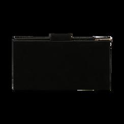 Portafogli nero in microfibra con 25 vani , Borse, 133322158MFNEROUNI, 004 preview