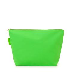 Pochette mare fluo verde in tessuto , Saldi Estivi, 133322281TSVERDUNI, 001a
