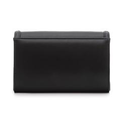 Borsa envelope con borchie nera in eco-pelle, Borse, 133386501EPNEROUNI, 003 preview