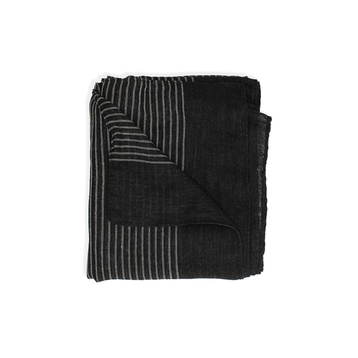 Pashmina nera in tessuto , Abbigliamento, 14B404024TSNEROUNI