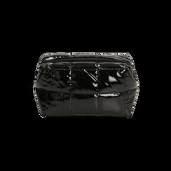Trousse duvet nera in vernice, Primadonna, 165122984VENEROUNI, 003 preview