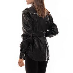 Giacca nera con borchie, Primadonna, 166500043EPNEROM, 002a