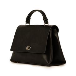 Mini bag en eco-piel color negro, Bolsos, 155700372EPNEROUNI, 004 preview