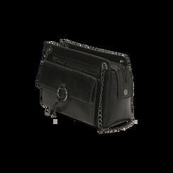 Petit sac noir imprimé vipère, Primadonna, 16D938308EVNEROUNI, 002 preview