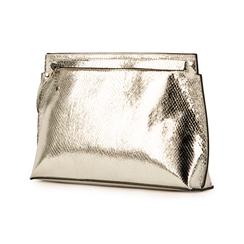 Pochette argento stampa vipera, Borse, 15D208516EVARGEUNI, 004 preview