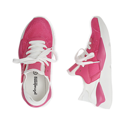 Dad shoes en tejido tecnico color fuxia, Zapatos, 15F609059TSFUCS036, 003 preview