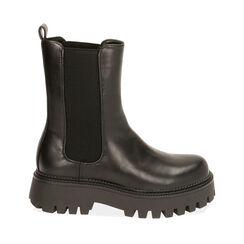Chelsea boots noires, Primadonna, 180628902EPNERO035, 001a