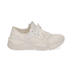 Dad shoes en tejido tecnico color blanco, Zapatos, 15F609059TSBIAN035, 001 preview