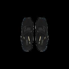 Décolleté Mary Jane nere, tacco 10 cm, Scarpe, 124912022MFNERO, 004 preview