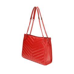 Bolso bandolera acolchado rojo, Primadonna, 18D202118EPROSSUNI, 002a