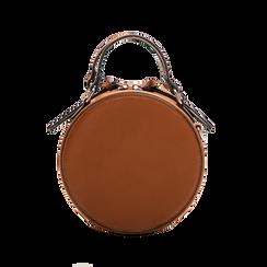 Mini-bag tonda multicolore in ecopelle, Borse, 122404146EPCUOIUNI, 002 preview