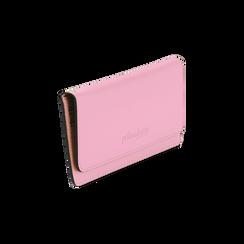 Portafoglio rosa in eco-pelle con laccetto per il polso, Borse, 133723651EPROSAUNI, 002 preview