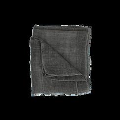 Pashmina grigia in tessuto , Abbigliamento, 14B404026TSGRIG3XL, 001 preview
