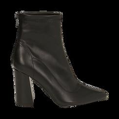Ankle boots neri, tacco 9 cm , Primadonna, 164823107EPNERO035, 001 preview