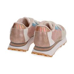 Sneakers rosa in tessuto tecnico , Primadonna, 177519601TSROSA035, 004 preview