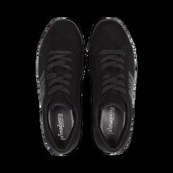 Sneakers nere suola platform multistrato, Primadonna, 122818575MFNERO035, 004 preview
