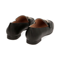 Mocassins noirs, Chaussures , 172760915EPNERO037, 004 preview