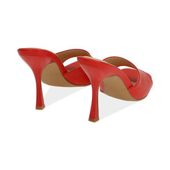 Mules rosse, tacco 9,5 cm , Primadonna, 174823921EPROSS035, 004 preview