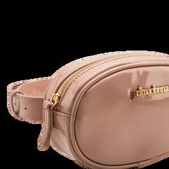 Marsupio in vernice rosa nude, Borse, 113309843VENUDEUNI, 003 preview
