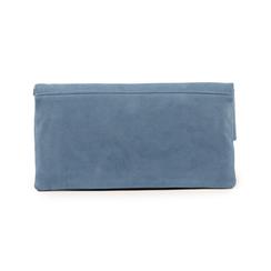 Pochette estensibile azzurra in microfibra, Borse, 155108717MFAZZUUNI, 003 preview