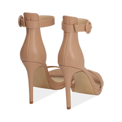 WOMEN SHOES SANDAL ECO-LEATHER NUDE, PROMOTIONS, 152123343EPNUDE036, 004 preview