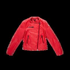 Giacca ecopelle corta rossa, Abbigliamento, 126577302EPROSS, 001 preview