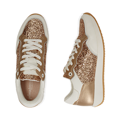 Baskets à paillettes or rose, Chaussures, 152669937GLRAOR039, 003 preview