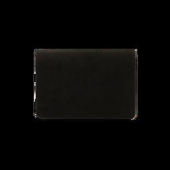 Borsa piccola nera in microfibra , IDEE REGALO, 165122947MFNEROUNI, 003 preview