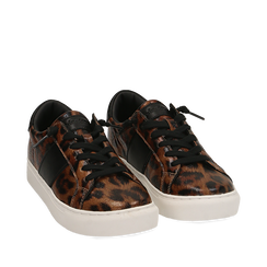 Sneakers leopard , Primadonna, 162619071EPLEMA035, 002a