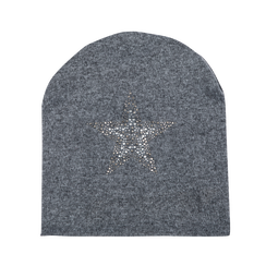 Berretto invernale grigio in tessuto, Saldi Abbigliamento, 12B490743TSGRIG, 001 preview