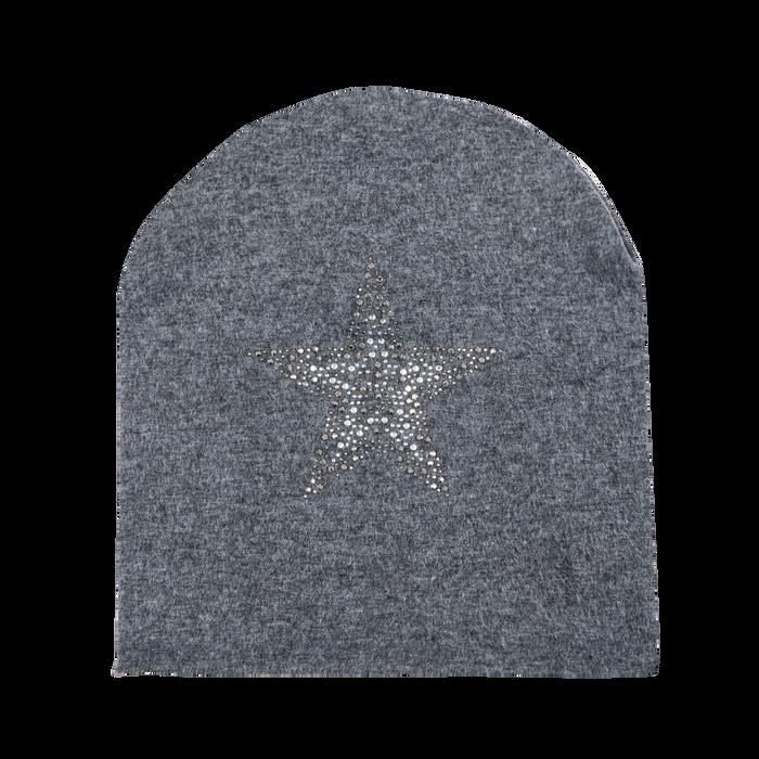 Berretto invernale grigio in tessuto, Saldi Abbigliamento, 12B490743TSGRIG