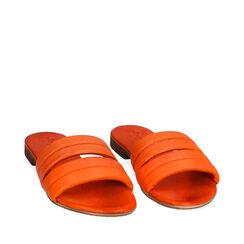Zapatillas de piel naranja, Primadonna, 177204903PEARAN035, 002a