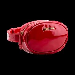 Marsupio in vernice rosso, Borse, 113309843VEROSSUNI, 002 preview