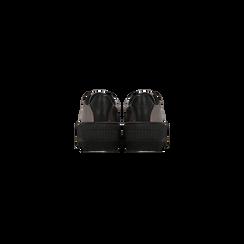 Sneakers canna di fucile con suola extra platform zigrinata, Scarpe, 122618776EPCANN, 003 preview