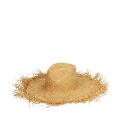 Cappello beige in paglia, Primadonna, 17J901350PGBEIGUNI, 001a