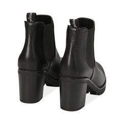 Botines Chelsea negro, tacón 8 cm , PROMOCIONES, 160637851EPNERO040, 004 preview