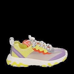 Dad shoes lilla in eco-pelle, Primadonna, 159319161EPLILL035, 001a